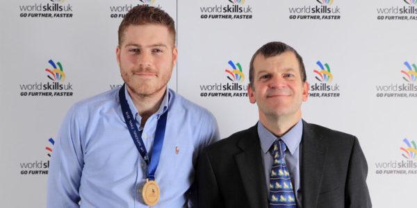 Rhys Boni wins SkillELECTRIC gold