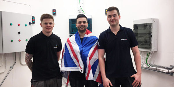 Team UK Selection - Thomas Lewis, Connor Lewis, Marc Marshall