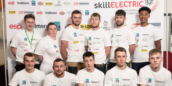 Stoke-on-Trent SkillELECTRIC competitors